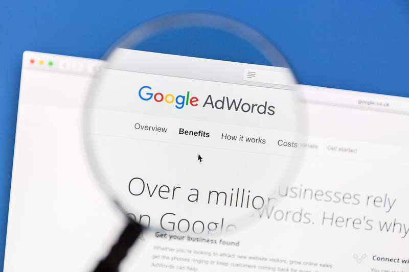 Google Adwords Lupenansicht